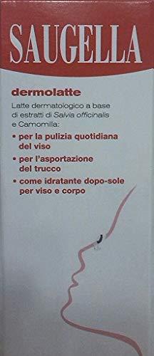 Latte Detergente Per Il Viso Per Pelli Delicate E Sensibili Dermolatte 200 Ml SAUGELLA