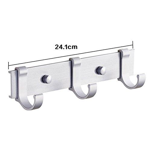 60%OFF Space aluminum pegs/ bathroom hooks/Door hooks in the back/Cloakroom hooks-B