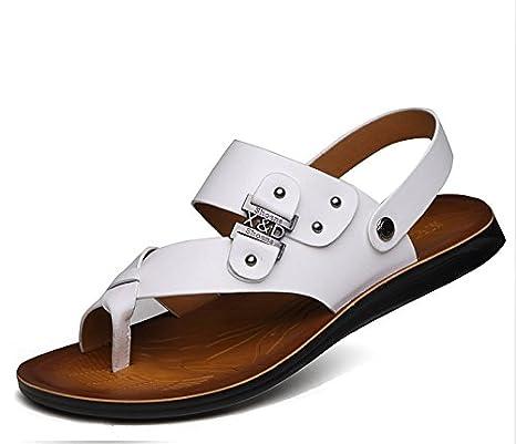 xing lin sandali uomo sandali uomo estate nuovo bianco giovanile Trend Cool  in pelle 6fb3dde372a