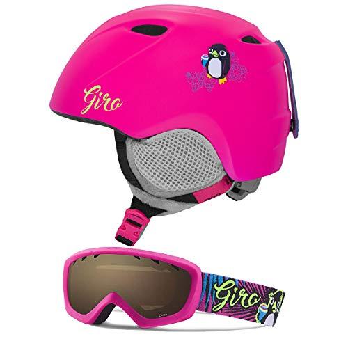 - Giro Slingshot CP Matte Bright Pink Penguin/Penguin Pop XS/S (49-52CM)