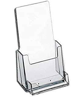 Amazon source one premium avonmary kay sized 6 inch wide source one premium counter top acrylic clear brochure holder with business card holder 4 inch wide colourmoves