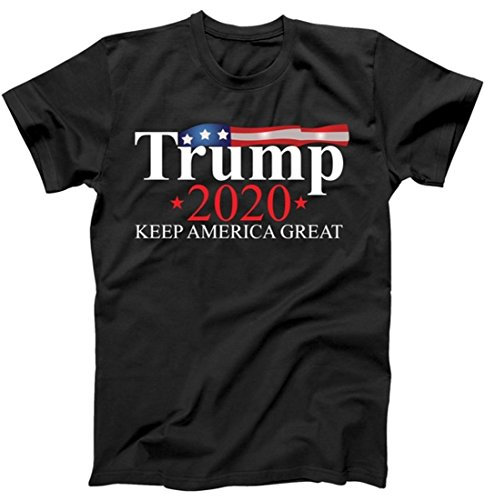 Donald Trump 2020 Election USA Keep America Great T-Shirt Black 5XL