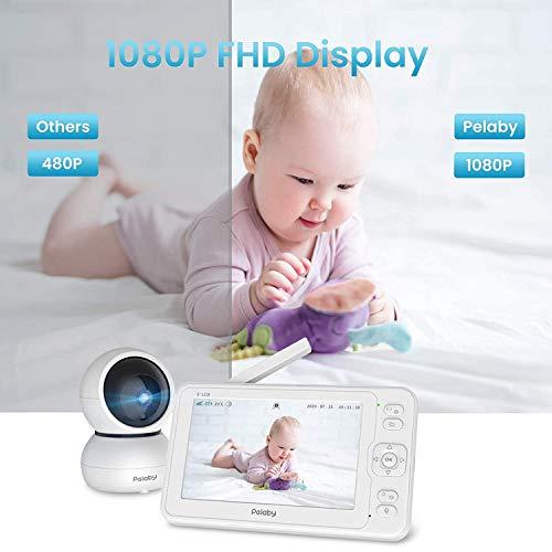 Video Baby Monitor, Pelaby 1080P 5\