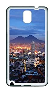 Samsung Note 3 Case,VUTTOO Stylish Napoli Night Soft Case For Samsung Galaxy Note 3 / N9000 / Note3 - TPU White