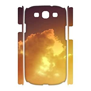 Personalized New Print Case for Samsung Galaxy S3 I9300 3D, Sunset Cloud Phone Case - HL-697037
