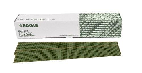 Eagle 457-0080 - Maxcut Stickon File Sheets - 2 3/4 x 16 1/2 inch. - Grit P80 - 50 shts/boxes Review