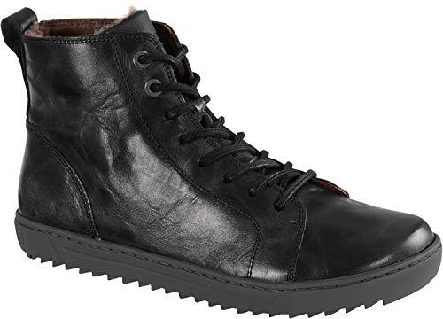 Birkenstock | Men Bartlett Leather Sneakers | Black (1010539) EU 41 - US L10 M8