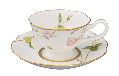 Adeline Bone China By Narumi, Blooming Rosy Lane Tea/Coffee Cup, Tea/Coffee ()