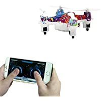 Mini RC Drone, Northbear Bluetooth Mobile Phone Control Quadcopter Helicopter - Gravity Sensor Phone Control for iOS / Android APP - Altitude Hold Aircraft with Colorful Light