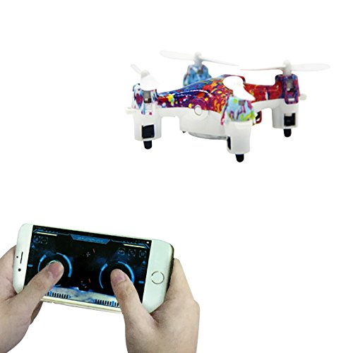 bear Bluetooth Mobile Phone Control Quadcopter Helicopter - Gravity Sensor Phone Control for iOS / Android APP - Altitude Hold Aircraft with Colorful Light ()