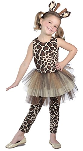Toddler Safari Costumes (Giraffe Costume Tutu Dress)