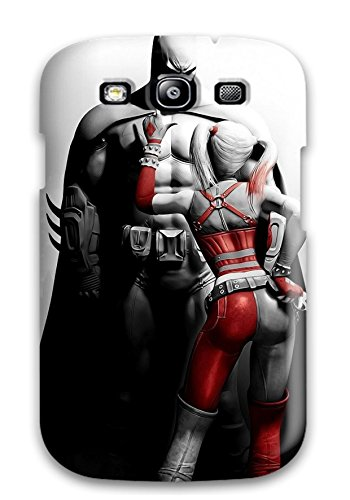 High Quality Shock Absorbing Case For Galaxy S3-batman And Harlequin