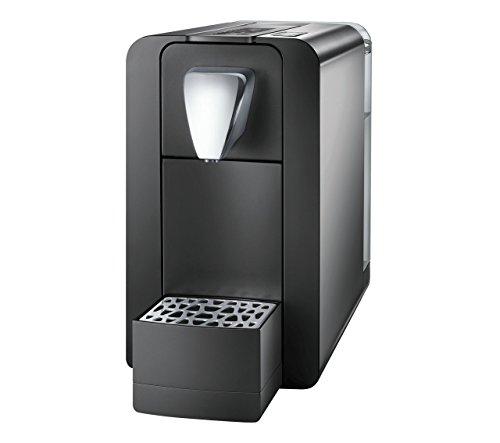 Cremesso Compact One II – Cafetera de cápsulas para sistema suizo Cremesso, color negro