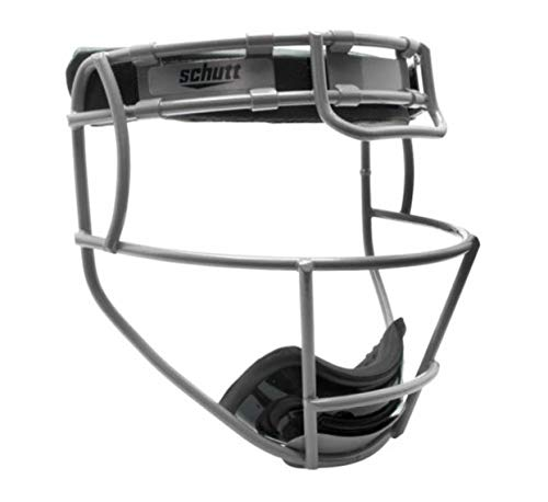 - Schutt Varsity Softball Titanium Fielder's Guard (Silver)