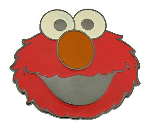 (Sesame Street Elmo Red Enamel Belt Buckle Muppet WLM)