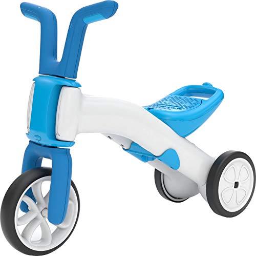 Chillafish Bunzi: 2-in-1 Gradual Balance Bike & Tricycle, White/Blue