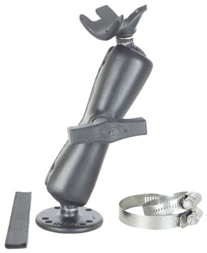 Ram Trolling Motor Stabilizer Mount with Long Double Socket Arm (Trolling Motor Ram Stabilizer)