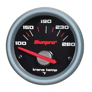 "Sunpro CP7003 Sport ST 2"" Electrical Transmission Temperature Gauge Kit"
