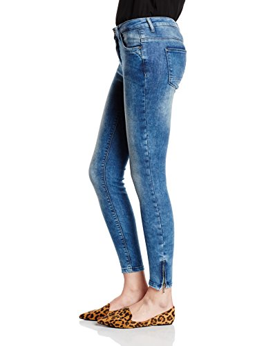 Blue Only Denim Femme Azul Light Jeans YYx7Hqf