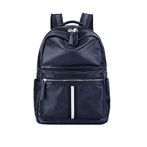 Black Women's Backpack Bag Bags Shoulder Pu Dhfud Travel 6qCFFd