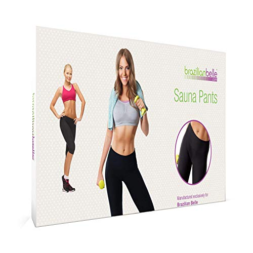 Brazilian Belle Neoprene Sauna Weight Loss Pants, Medium Size, ()