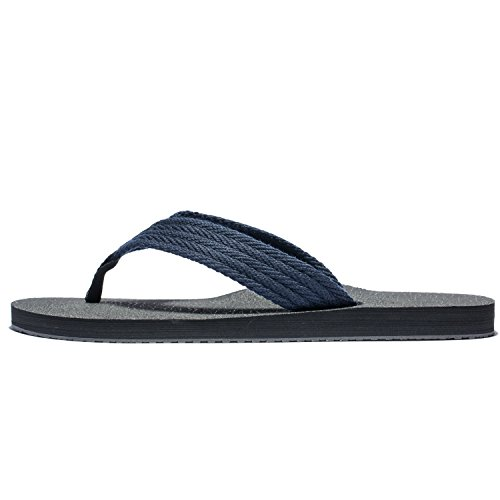 Thong Men Flops Beach Wide Sandals Big Best Mens Man Flip Size Slippers Summer Black Duckmole The Large blue Platform ApFZxq1