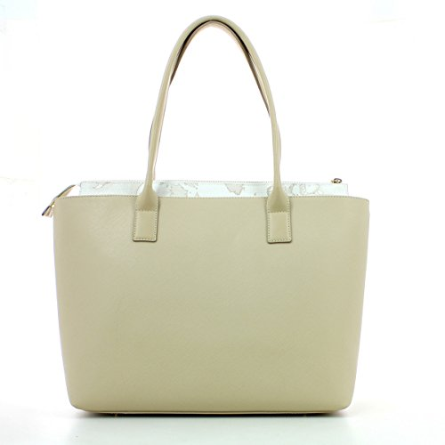 LGH27W407 panna Classe Prima grande Borsa CITY Martini shopping colore Alviero LOVE qHxTwg