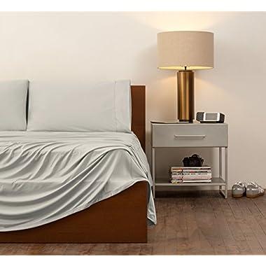 SHEEX Performance Bedding Home Collection Sheet Set, King, Khaki