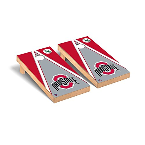 Victory Tailgate NCAA Ohio State University Buckeyes OSU Triangle Version Cornhole Game Set