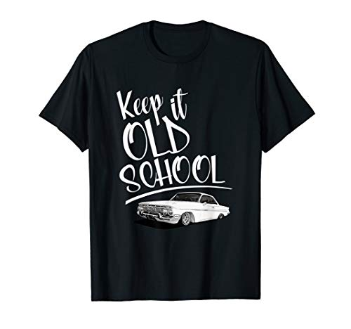 KEEP IT OLD SCHOOL: LOWRIDER T-SHIRT for men women and kids