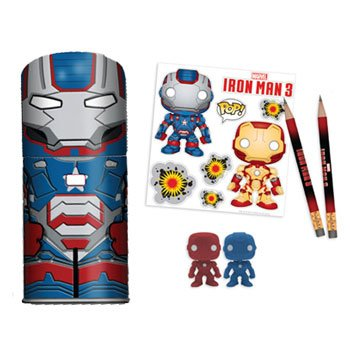 Funko Marvel: Iron Man Movie 3 Iron Patriot Tin-Tastic Playset (Iii Iron Mark)