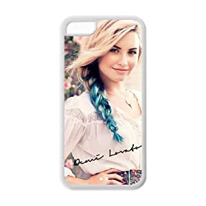 Customzie Your Own Singer Demi Lovato Back Case for iphone5C JN5C-1518