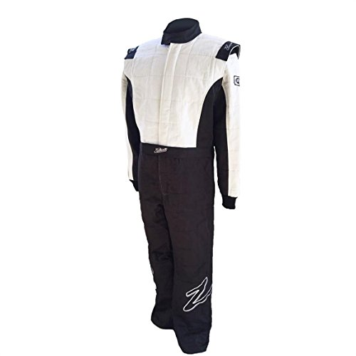 Multi Layer Suits - Zamp Men's Suit Multi Layer (Black and White, Large)