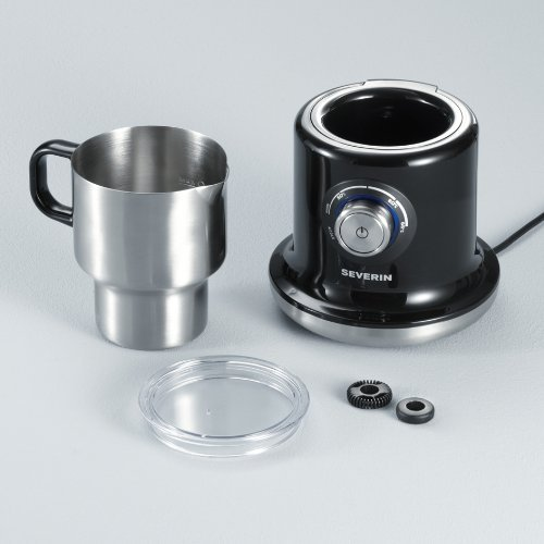 Severin SM 9688 Milk frother 0.70l Black Silver