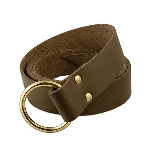Medieval Ring Belt Brown (Medieval Mens Ring)