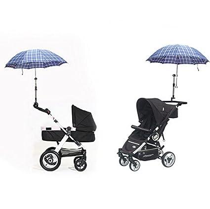 Ocamo Soporte de Paraguas de Cochecito de bebé para Silla de Ruedas Soporte de Paraguas de