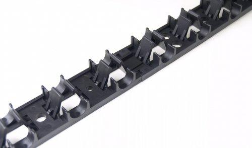 TUBConcept - Rails de fixation pour plancher et murs chauffant - Tubes Ø16 à Ø20mm - Longueur 1 Mètre
