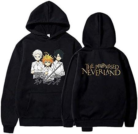 JFLY The Promised Neverland Hoodies Hombres Suéteres De Otoño De Manga Larga Cool Harajuku Streetwear Unisex Ropa Gráfica Creativa