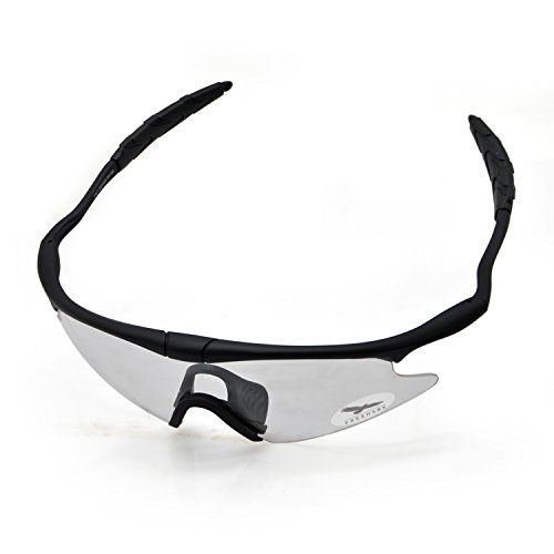 Freehawk Tactical Eyewear Protective Glasses Military Airsoft Goggles for Shooting Airsoft Paintball Running Cycling Outdoor Sport (Clear)