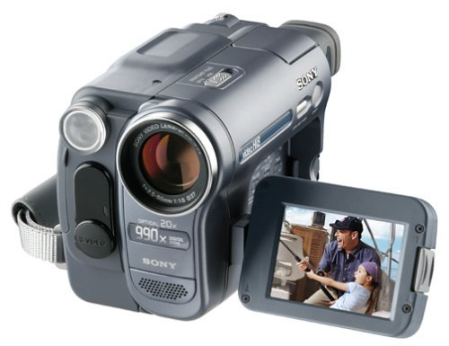 Sony Hi8 Camcorder 8mm Video Player CCD-TRV128 Sony Handycam Hi8 Analog Video Player (Certified Refurbished)