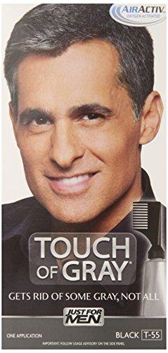 Just for Men Touch of Gris Couleur des cheveux, Noir