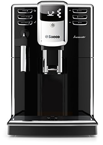 Saeco HD8911/47 Saeco Incanto Classic Milk Frother Super Automatic Espresso Machine, Black