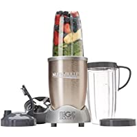 NutriBullet Pro 900W Nutrient Extractor Blender 9-Piece Set with 32 oz. and 24 oz. Cups (Gold)