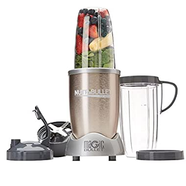 NutriBullet Pro 900 Hi-Speed Blender/Mixer, 9-piece Set