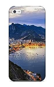 Charming YaYa Premium Protective Hard Case For Iphone 5c- Nice Design - Rio De Janeiro Brazil
