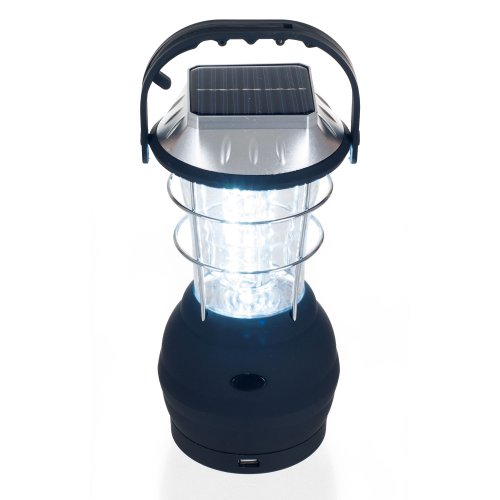 Dynamo Lantern (Whetstone Solar Powered, Crank Dynamo, Battery Operated Lantern- 4 Ways to Power- 180 Lumen 36-LED with Adjustable Settings for Camping, Emergency by)