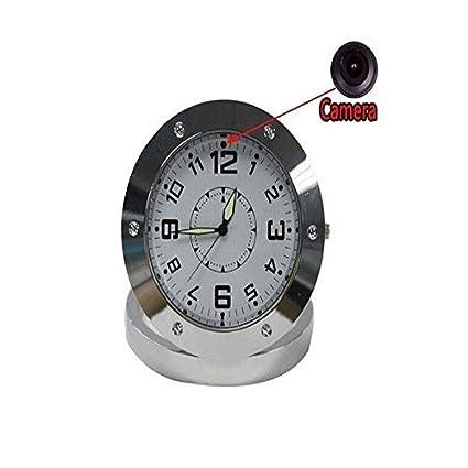 Reloj cámara espía con micrófono integrado – tarjeta Micro SD 32 GB