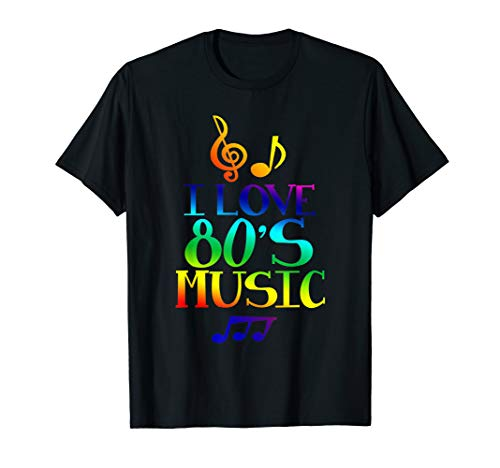 I Love the 80's T-Shirt Women Men