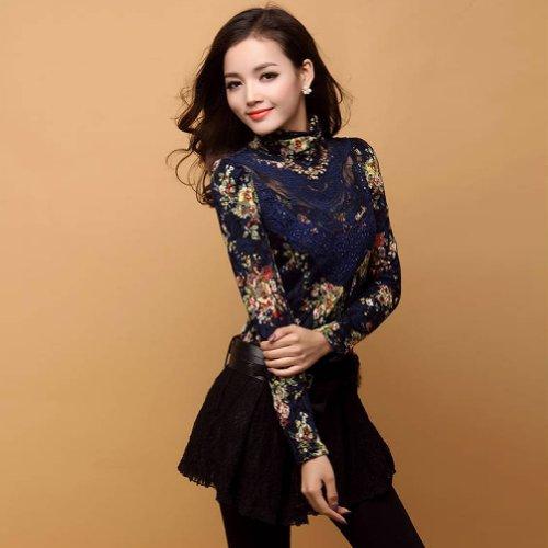 LOCOMO Tops - Camisas - para mujer Azul