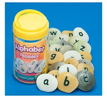 Alphabet Pebbles - Lowercase by EDR